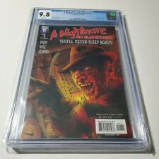 A Nightmare on Elm St 1, 2, 3 CGC 9.8 White Pages Comic 2006 Freddy Kreuger...