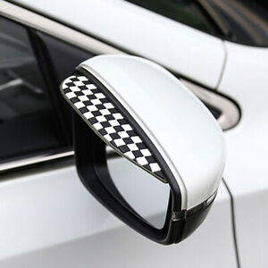 2x Rear View Side Mirror Rain Board Eyebrow Guard Sun Visor Car Accessories A