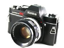 Konica Autoreflex TC 35mm SLR Film Camera & 52mm Lens
