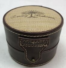 Original Tommy Bahama EMPTY Leather Watch Case