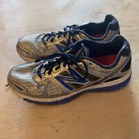 New Balance Men's 860 v4 Running Shoes Gray w Blue USA Size 11.5 D EUR 45.5