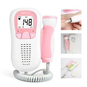 Détecteur de rythme cardiaque de bébé pendant la grossesse. Doppler foetal bébé