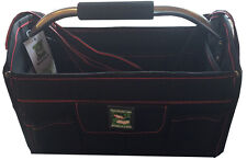 "13"" Plumbers Builders Tool Box Tote Bag Case Electrician Carpenter Technician"
