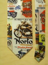 UNIQUE TIE - NORTON MOTORCYCLES -