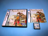 Rune Factory: A Fantasy Harvest Moon (Nintendo DS) Lite DSi w/Case & Manual