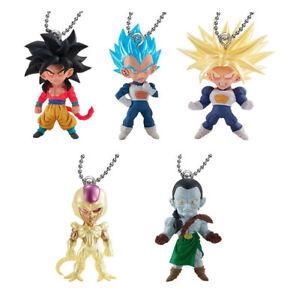 Bandai Dragon Ball gashapon collection 10 action figures set Blue rare