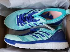 adidas Women's Adizero Tempo 9 Running Shoe Size 6.5 Clear Mint/Mystery Ink/Hi-