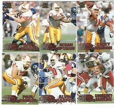 1997 Pacific Copper Tampa Bay Buccaneers 6 card lot