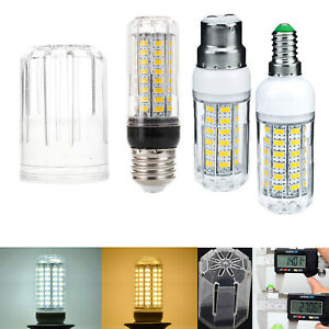 20W Dimmable LED Corn Light Bulbs E12 E26 E27 E14 B22 5730 SMD 12V Lamp SS839
