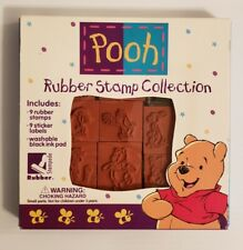 winnie the pooh rubber stamp collection stampede rubber old