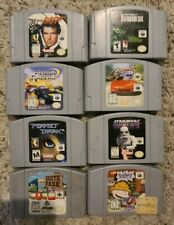 Nintendo N64 Game Lot - Tested & Working - 007, Crusin USA, Perfect Dark & more!