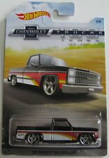 Hot Wheels 2018 Chevrolet 100 years Trucks series '83 CHEVY SILVERADO black