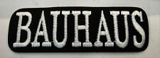 Bauhaus Collectable Rare Vintage Patch Embroided 90'S Metal Li 00001B6F Ve