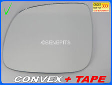Wing Mirror Glass For VW TOUAREG  2007-2010 CONVEX + TAPE Left Side #A016