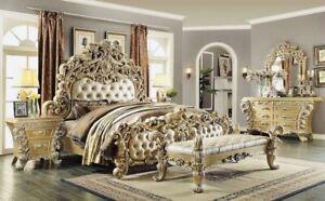 Baroque Style Bedroom Set