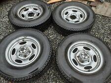 """4x 15"""" Daihatsu Fourtrax chrome steels and matching tyres Suzuki Vitara 5x139"""