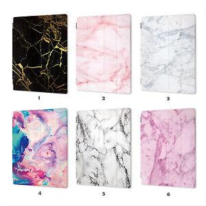Marble Smart Case Cover iPad 2 3 4 5 6 7 8 Gen Air mini 1 Pro 9.7 10.5 001