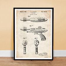 RAY GUN Toy Pistol Patent Print 18x24 Poster Vintage Repro New Robot NICE GIFT