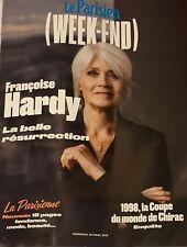 LE PARISIEN WE 30/03/2018**FRANÇOISE HARDY*JACQUES CHIRAC COUPE MONDE**G. FROIDE
