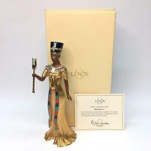Lenox Queen Nefertiti Figurine / Egyptian Sculpture w/ Box & COA