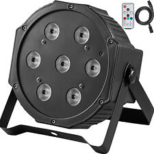 Par lights RGBW DMX Stage Light 7x10W DJ Disco Party Lighting Remote Control