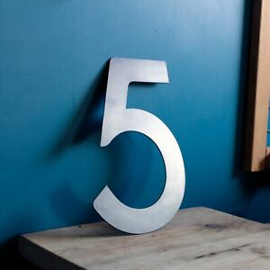 Large Metal Number, House Number, Modern House Number, Door number, Unit Number