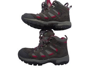 Karrimor grey & pink waterproof walking boots shoes UK 7