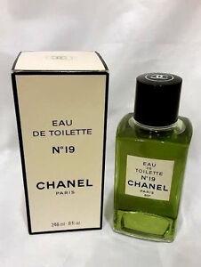 CHANEL NO.19 Perfume 8oz-246ml Eau de Toilette Splash VINTAGE FORMULA (IB08