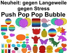 Push it Pop up Bubbles Fidget Toy Beruhigung Antistress Regenbogen Langeweile
