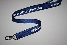 Uni Jena Schlüsselband / Lanyard NEU!!