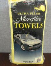 Kirkland Signature Ultra Plush Microfibre Towels Auto Home 36 Microfiber Rags