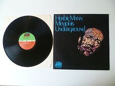 "HERBIE MANN ""MENPHIS UNDERGROUND"" ATLANTIC ITALY K40038 1972  SOUL-JAZZ"