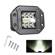 5inch 39W LED Work Light Flush Mount Pods Driving Fog Off Road Truck SUV Light