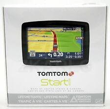 NEW SEALED TomTom START 45TM Car GPS Navigation Set US/CAN LIFETIME MAP Traffic
