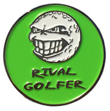 'Electric' GREEN Golf Ball Marker