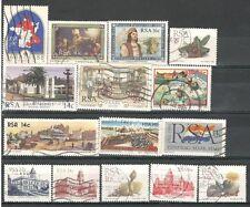R392 - SUDAFRICA 1986 - LOTTO USATI DIFFERENTI  N° 599/667 - VEDI FOTO