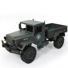 1:16 Scale RC Rock Crawler Off-Road 4WD Remote Control Military Truck Car Toy