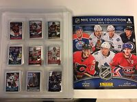 NHL HOCKEY 2016 2017 PANINI ALBUM + COMPLETE STICKERS SET Connor McDavid ROOKIE
