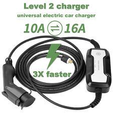 Home Electric Car Vehicle Charger EV 220V 10A/16Amp Level2 EVSE J1772 for Tesla