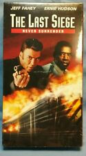 Factory Sealed! The Last Siege (VHS, 2002)