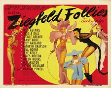 ZIEGFELD FOLLIES Movie POSTER 22x28 Half Sheet Fred Astaire Judy Garland Gene