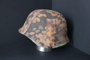 WW2 Wehrmacht Helmbezug Tarnbezug Eichentarn Helmet Cover Oak A WK2