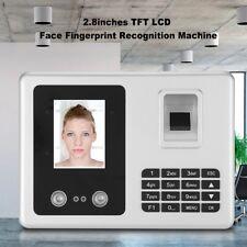 2.8 inch Recognition Fingerprint Time Clock Attendance Machine Access System