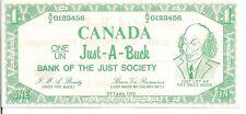 CANADA, POLITICAL SATIRE NOTE Trudeau , 1972 ? UNC,