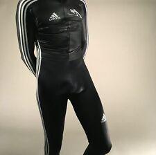 adidas FULL BODY ski jumping suit size medium lycra spandex made in italy skiing