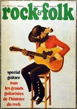 Magazine Rock & Folk n° 79 - Spécial Guitare