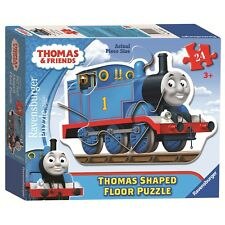 Thomas The Tank Engine Shaped 24 Piece Jigsaw Puzzle Game Brand New Gift