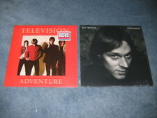 Television Adventure Tom Verlaine Dreamtime Lot of 2 LP Record Near Mint