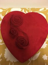LARGE GODIVA CHOCOLATE VALENTINE BOX EMPTY