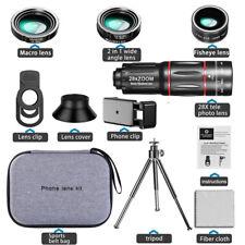 28X HD Mobile Phone Camera Lens Telescope Zoom Macro Lens For Iphone Samsung